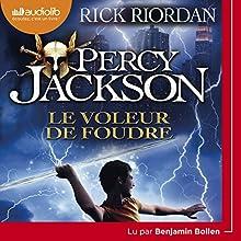 Le Voleur de foudre (Percy Jackson 1)   Livre audio Auteur(s) : Rick Riordan Narrateur(s) : Benjamin Bollen