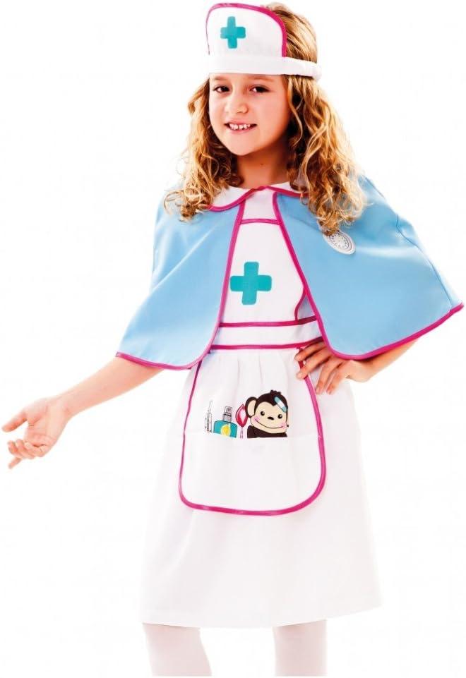Fyasa 720832-t01 – Disfraz de enfermera para niña, tamaño mediano ...