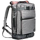 "Multipurpose Outdoor Backpack, Hiking Rucksack,Travel Duffel Bag fits 15.6"" Laptop Grey"