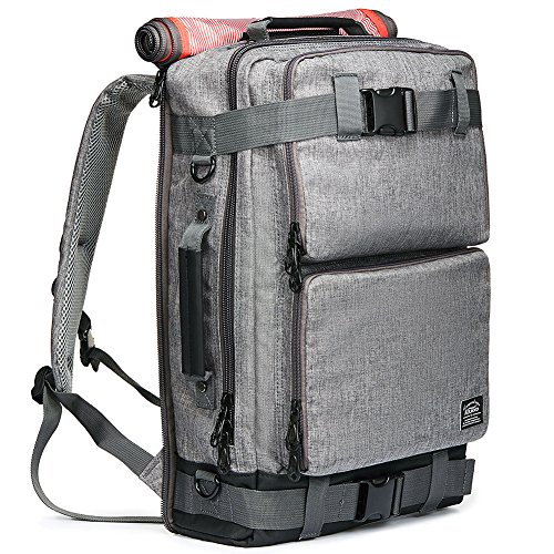 Travel Outdoor Computer Backpack Laptop bag 15.6''(grey) - 9