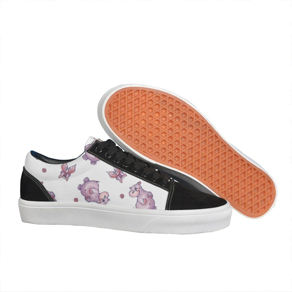 UUriq Irish Flag Shamrock Pattern Womens Fashion Sneakers Walking Shoes