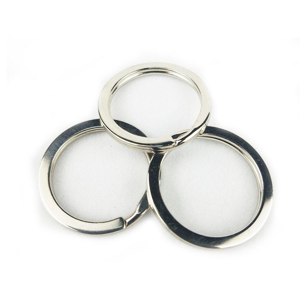 Amazon.com: Llaveros – Metal de Split Llaveros anillos para ...