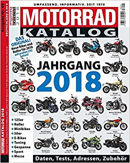 Motorrad Katalog 2018 Amazonde Bücher