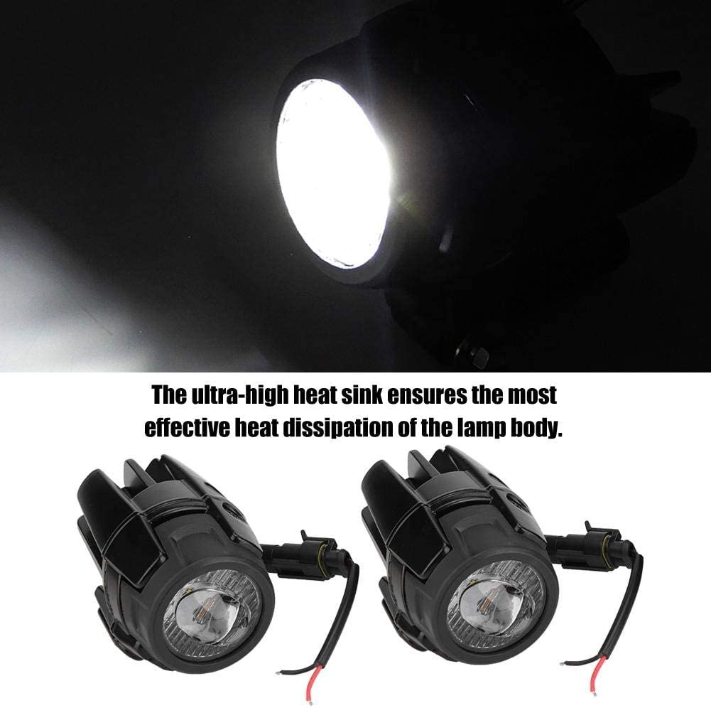 EBTOOLS Motorcycle LED Fog Lights,40W Aluminum Alloy Fog Lights LED Auxiliary Driving Lamp for R1200GS adv F800GS F700GS F650gs