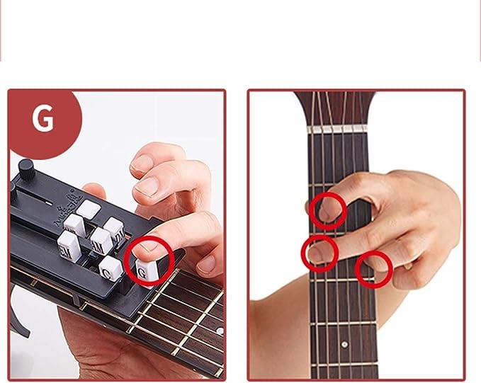 Dispositivo De Acordes De Una Tecla Para Guitarra, Botón ...