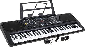 Keyboard MQ-600UFB - Teclado Piano Digital 61 Teclas, Teclado ...