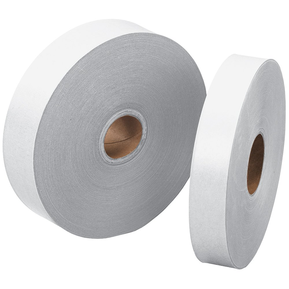 """Intertape T1000CW Convoy Light Duty Gum Side Out Tape, 500' Length x 1"""" Width, White (Case of 30)"""
