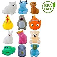 Cartup Chu Chu Bath Toys for Baby Non-Toxic, Toddler Bath Tub Toy Set