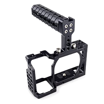 accstore Kit de jaula de cámara para Sony A6000/A6300/A6500/ILCE ...