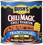 Bush's Best Chili Magic Traditional Mild Chili Starter (Case of 12)