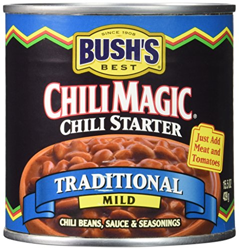 bushs-best-chili-magic-traditional-mild-chili-starter-case-of-12