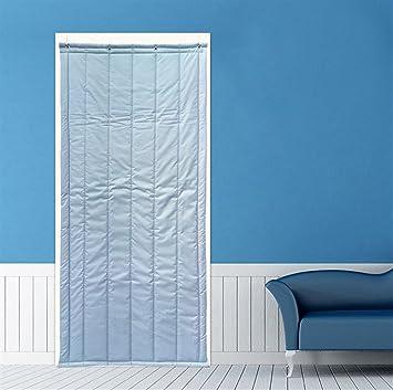 Cortina térmica Icegrey para aislamiento de puertas, panel de protección, cortina de aislamiento térmico, aislamiento acústico, a prueba de viento, ICG-YONGT-001-5-100x220cm: Amazon.es: Bricolaje y herramientas