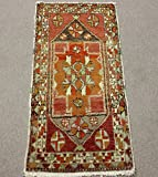 Turkish Vintage Doormat Small rug 3,1x1,6 feet Area rug Bath mat Rug Bedroom Rug Turkish rug home decor Decorative Rug Rustic Rugs