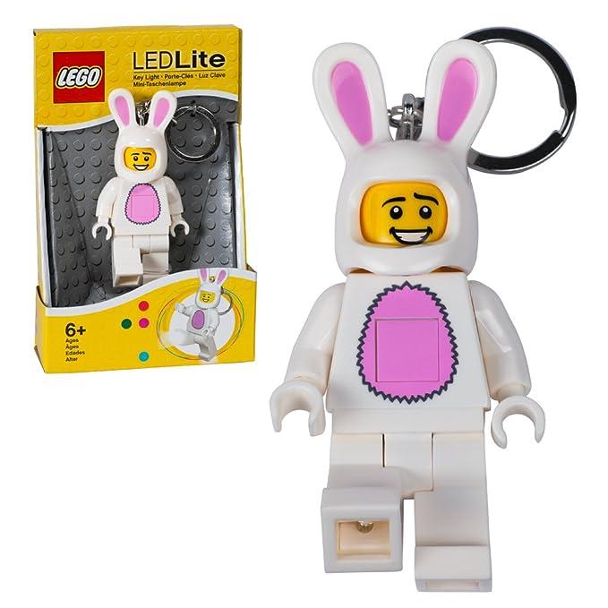 Amazon.com: LEGO traje de conejo chavo, llavero con luz ...