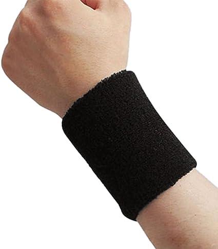 3 x Banda Deporte Muñequera Wristband Baloncesto Protector de ...