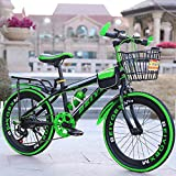WY-Tong Bikes for kids Kids Bike 6-12 Year Old Big Boy Speed Mountain Bike 20 Inch Student Bicycle