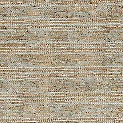 Stone & Beam Striped Leather Rug