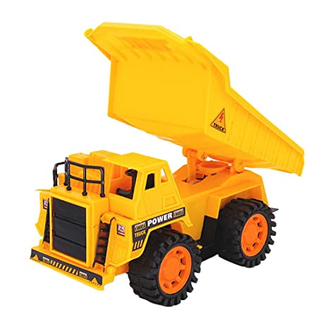 Big Dump Trucks >> Amazon Com Binory 4ch Remote Control Big Dump Truck With 5