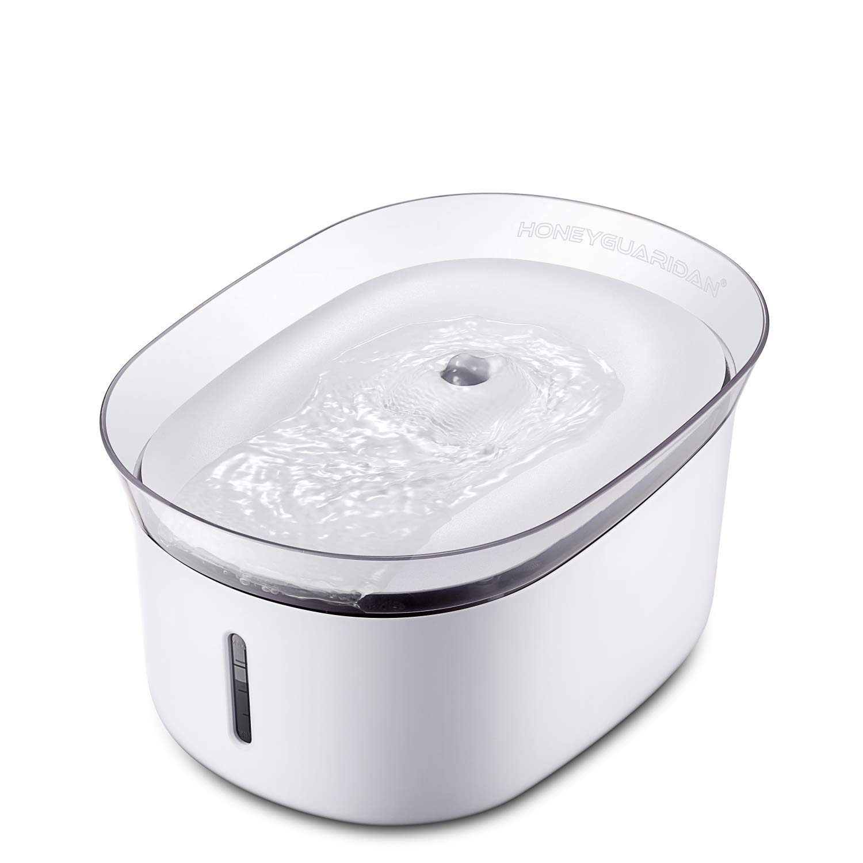 HoneyGuaridan W18 Fuente de Agua Automática para Mascotas, Bebederos Mascotas.