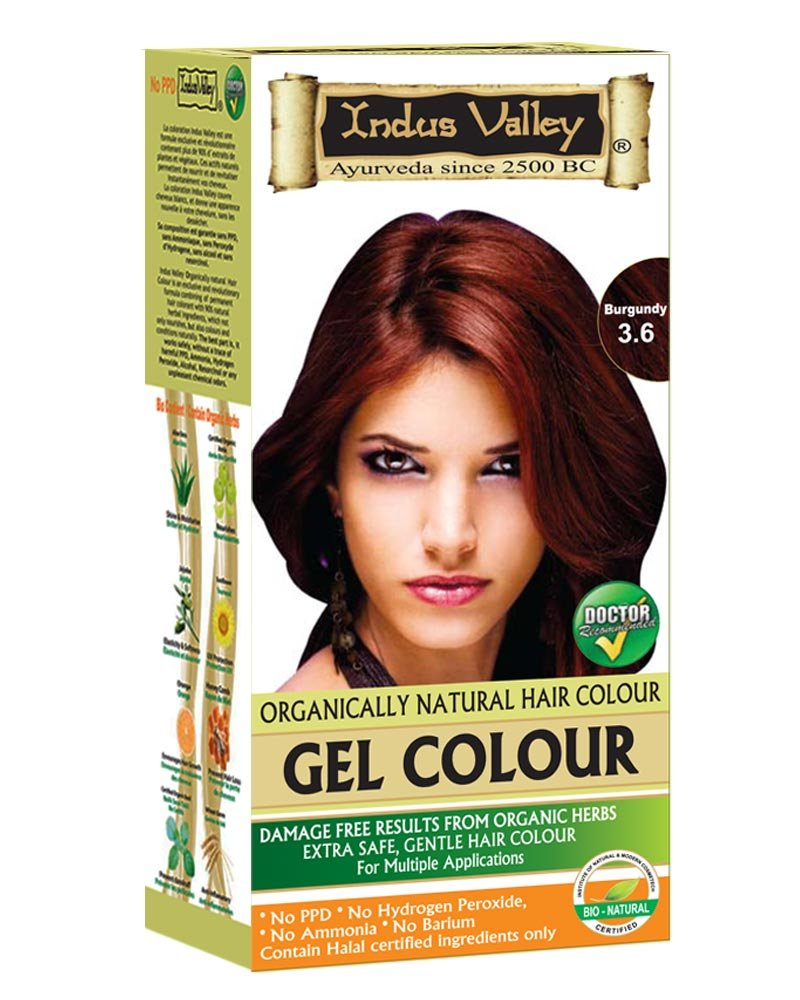 Amazon Indus Valley Organically Natural Gel Hair Color With
