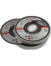 Bosch Professional Trennscheibe gerade Standard für Inox - Rapido WA 60 T BF, 125 mm, 10-er Pack, 2608603255