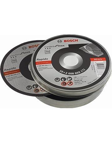 Bosch 2 608 603 255 - Disco de corte recto Standard for Inox - Rapido -