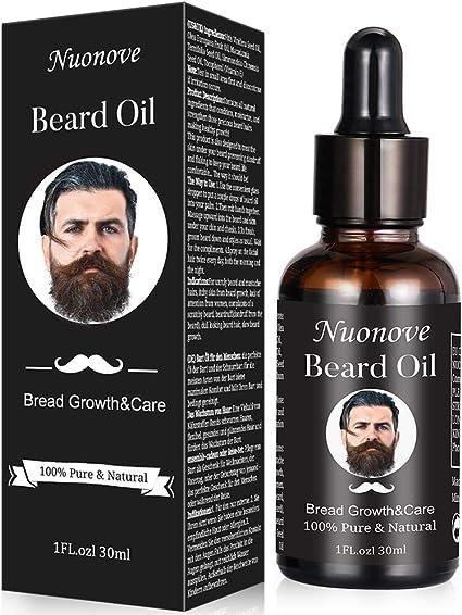 Aceite de Barba para Hombres, Aceite De Barba, Aceite Para Barba, Aceite De Barba Natural,Aceite Nutritivo Para Una Barba Suave, el cuidado de la ...