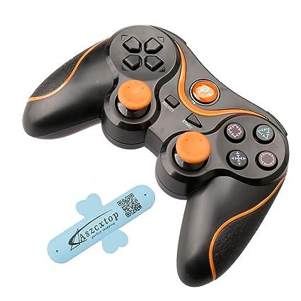 Amazon.com : A-SZCXTOP Dualshock PS3 Bluetooth Game Controller ...