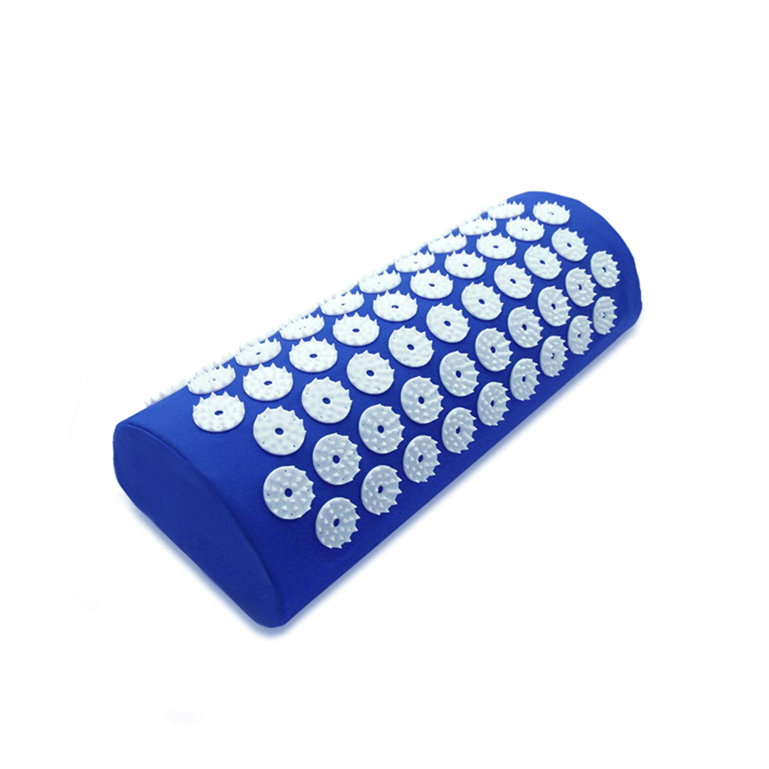 Acupressure Mat and Pillow Set for Back/Neck Pain Relief and Muscle Relaxation (Blue) by Colin