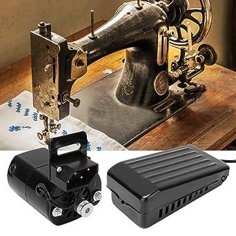Zouminyy Máquina de coser Kit de motor y pedal Juego de piezas de ...