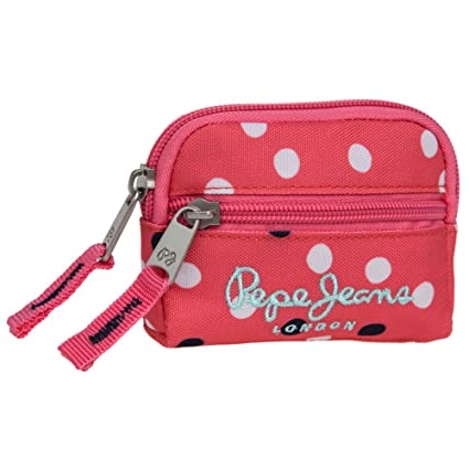 Pepe Jeans Monedero, Diseño Lunares, Color Rosa: Amazon.es ...
