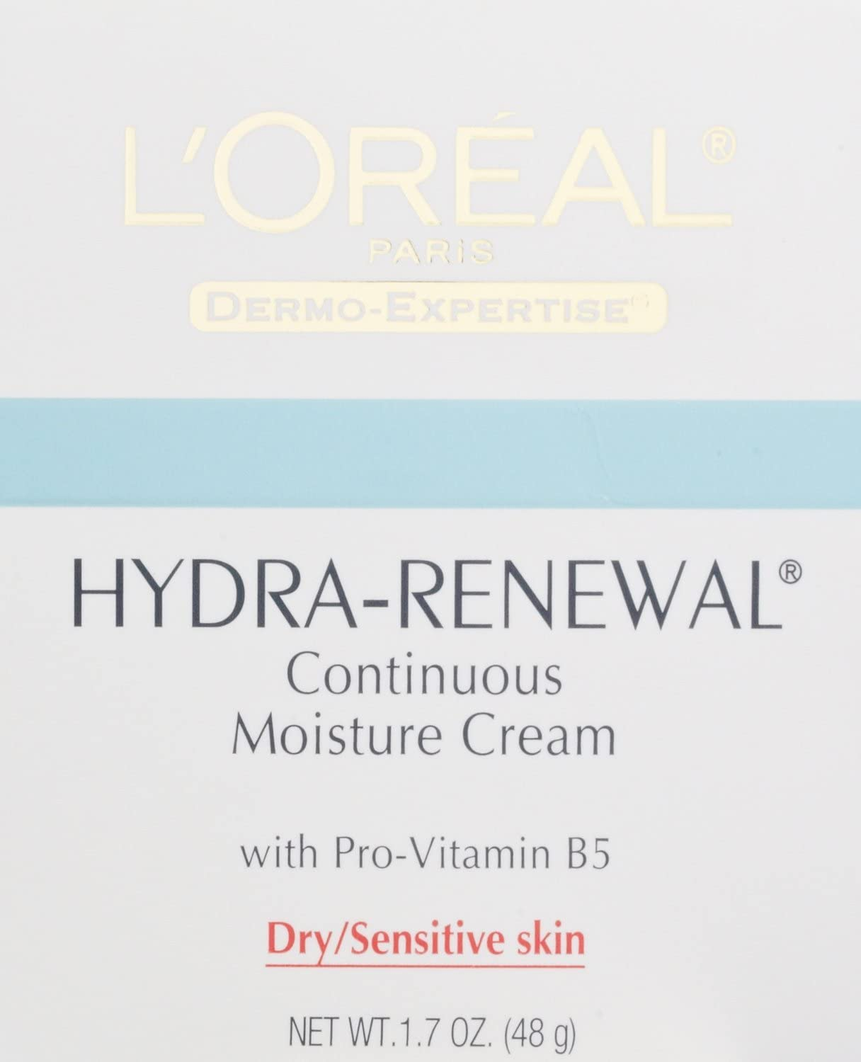 L'oreal L'Oreal Dermo-Expertise Hydra-Renewal Continuous Moisture Cream, 1.7 oz (Pack of 2)