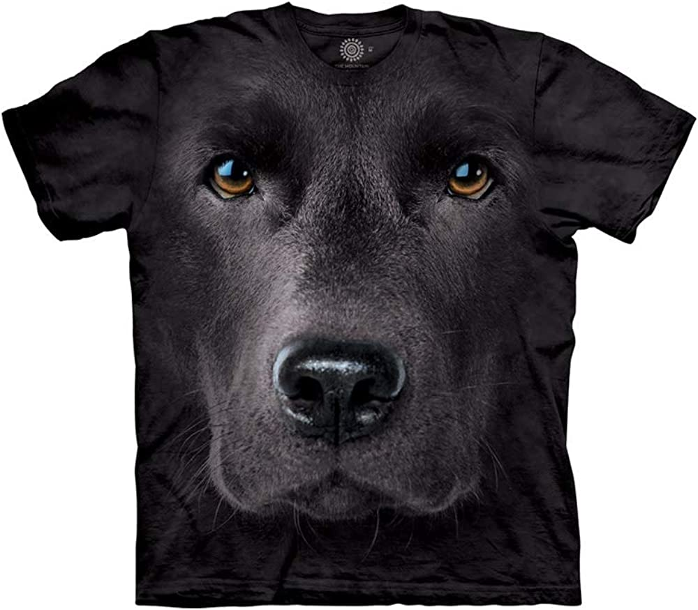 The Mountain Men's Black Lab Face