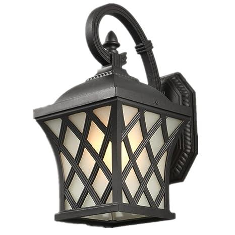 iacon 5 W LED detector de movimiento exterior lámpara vintage lámpara de pared Luces de Jardín