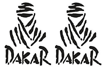 Dakar Stickers For Car Ducati Monster Design 25 Cm Amazon Co Uk