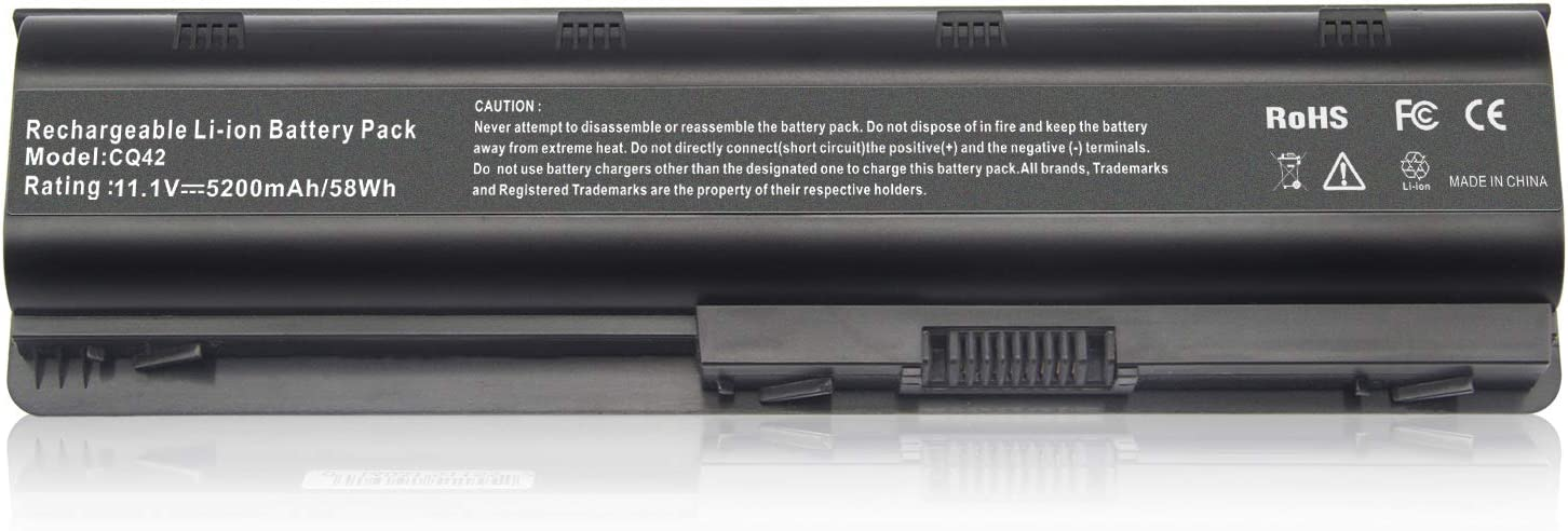 593553-001 Laptop Battery MU06 MU09 for HP Pavilion DV4 G71-340US G60-235DX G60-535DX DV4-2145DX DV5-1235DX DV4-2045DX G60-445DX DV5-1002NR DV6-1030US G70 Presario
