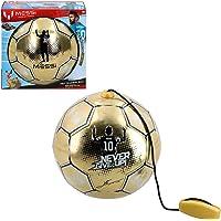 Messi Training System - Trainingsbal met touw gouden editie (ColorBaby 48070).