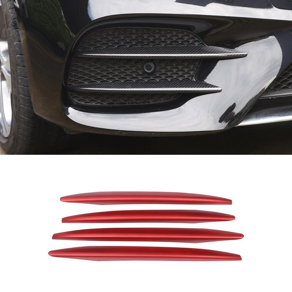 ABS Front Fog Light Lamp Cover Trim For For Mercedes Benz E Class W213 2016 2017 METYOUCAR