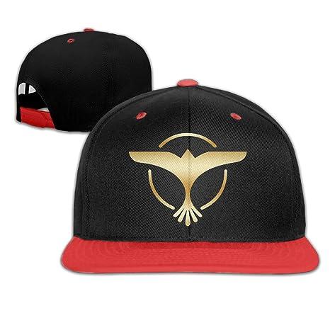 Tiesto Gold Logo Baseball Snapback Cap Red  Amazon.ca  Clothing    Accessories 2c3ff25d546