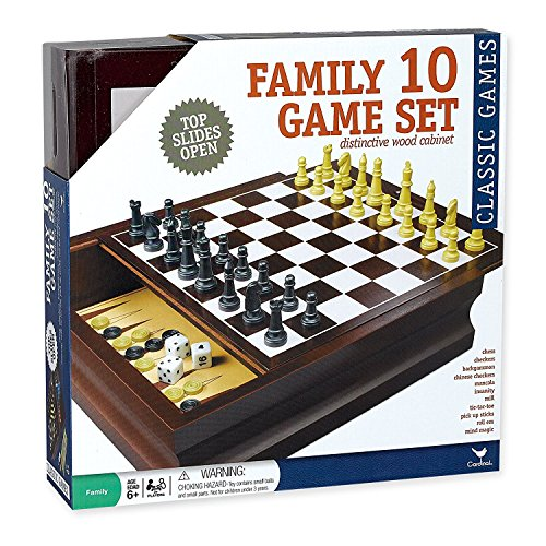 Cardinal Family 10 Game Set in a Distinctive Wood (Distinctive Wood)