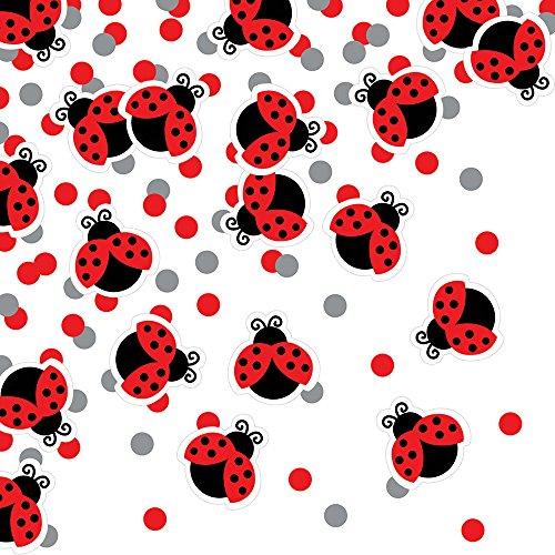 Creative Converting 025019 Ladybug Fancy Printed Confetti, (0.5 Ounce Printed Confetti)