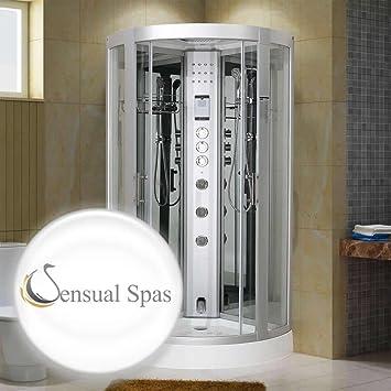 Sensual Spas esencia 800 espejo vapor ducha 800 x 800 – Garantía y ...