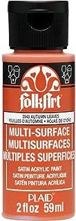 product image for FolkArt multisurface paint, 2 oz, Autumn Leaves 2 Fl Oz