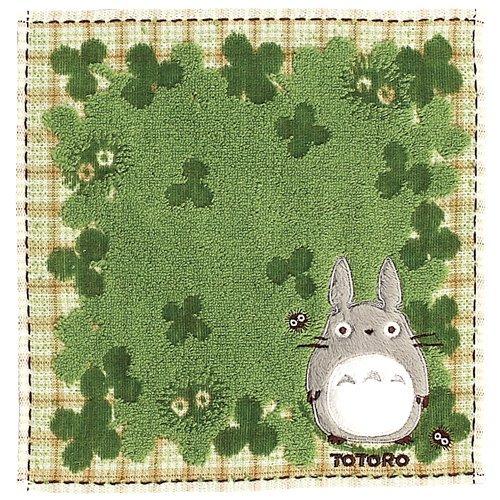 ([ Studio Ghibli / My Neighbor Totoro ] Harappa ( non-twist yarns steam shirring Far applique embroidery ) 590 608 [ Mini Towel)