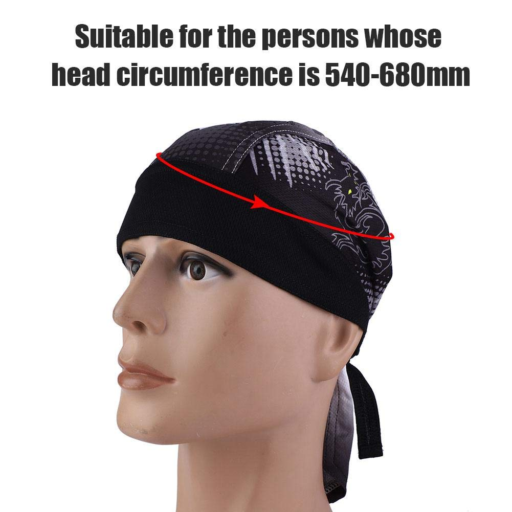 Alomejor Cycling Headscarf Outdoor Sports Bicycle Breathable Hat Quick-dry Sun UV Protection Cycling Headband for Women Men Biking Motorcycling Riding