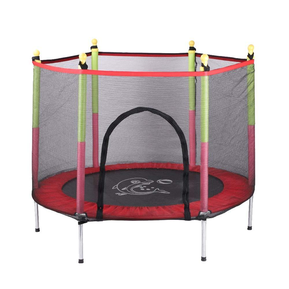 安全パッドが付いている55インチのトランポリン、屋内庭の試しの心臓トレーニングのため、子供のための楽しみの小型適性トランポリン : (色 (色 : B07MC4MFK3 青) B07MC4MFK3 Red Red, 神戸モリーママ:0e7cc8e0 --- krianta.com