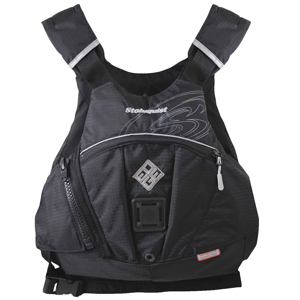 Stohlquist Edge Kayak Lifejacket-Black-L/XL