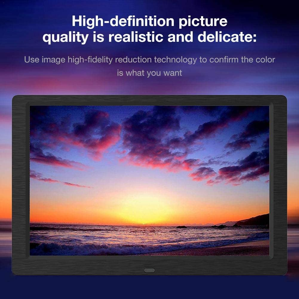 Photo E-Book Calendar Support Music Lorchwise Digital Photo Frame,10 Inch IPS Full Angle View Screen,1280x800 High Resolution Video Etc.