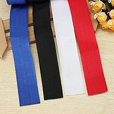 KINGSO Multi-purpose Nylon Webbing Strap Rope 1.4 Inches Wide 5.5 Yards