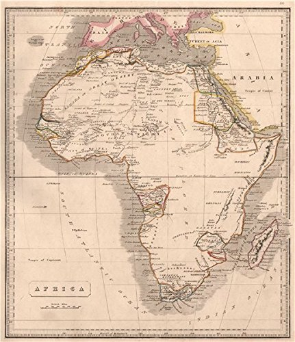 Map Of Africa 1850.Africa Pre Colonial Tribes Mocaranga Sabia Cape Colony Johnson